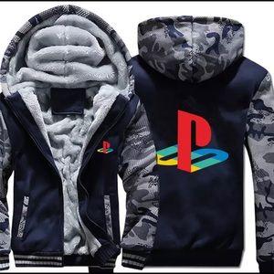 Men Play Station Jacket